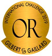 Médaille Or Gilbert & Gaillard